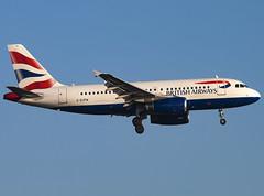 British Airways | Airbus A319-131 | G-EUPW (Bradley's Aviation Photography) Tags: egll lhr heathrow heathrowairport londonheathrowairport london londonheathrow canon70d aviation avgeek aviationphotography plane planespotting flying ba a319 britishairways airbusa319131 geupw