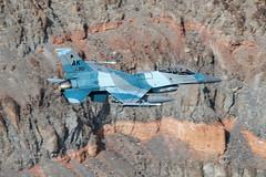 F-16C 86-0351 18 AGRS (Neil Dunridge) Tags: 18agrs 18thaggressorsquadron 2november2018 354fw 354fighterwing 860351 ak f16c flankercamouflage generaldynamicsf16c lowlevelflying r2508 sidewinderlowflyroute starwarscanyon usaf