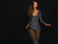 Here I 'am (kare Karas) Tags: woman lady femme girl girly sweet danger fierce bento mesh fashion event colors sensual seduce sexy seductive secondlife