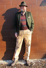 3-18-2019 Today's Clothes (Michael A2012) Tags: panizza sportsman felt stingy brim hat this mans winter style vintage fashion lands end wool alpaca cotton rayon silk fur brooks brothers creativity thompson chinos ecco haggar jc penneys