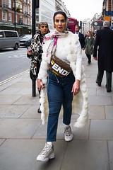 L1000495-2.jpg (Bulent Acar) Tags: piccadilly street bag coat colour fendi jeans muslim trainers white woman