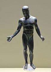 The so-called 'Ephebe of Adranon' (diffendale) Tags: 5thcbce mid5thcbce 1sthalf5thcbce 2ndquarter5thcbce 460sbce 450sbce classical etàclassica efebodelmendolito efebodeladrano ephebe athlete athletics sports games competition agon atleta efebo statuetta miniature bronze bronzo pitagoradireggio sculptor competitor adranon adrano ἀδρανόν hadranum pleiades:findspot=462074 sicily sicilia sicilien σικελία sicile sicilië сицилия sicilya sculpture statue bildhauerkunst plastik γλυπτική escultura scultura скульпту́ра نحت heykel museum museo museu musée μουσείο музеи müze artifact display exhibit متحف ancient antico antique archaeological archeologico nude art male