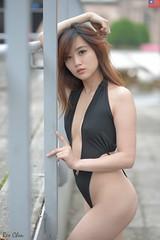王詩涵 (玩家) Tags: 2019 台灣 台北 水博館 自來水博物館 人像 外拍 正妹 模特兒 泳裝 比基尼 王詩涵 戶外 定焦 無後製 無修圖 taiwan taipei portrait glamour model girl female bikini outdoor d610 85mm prime