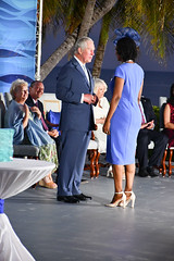 Felicia McLean Post Presentation Chat 3 (Cayman Islands Government Information Services) Tags: royal visit cayman prince wales duchess cornwall pedro st james united kingdom great britain