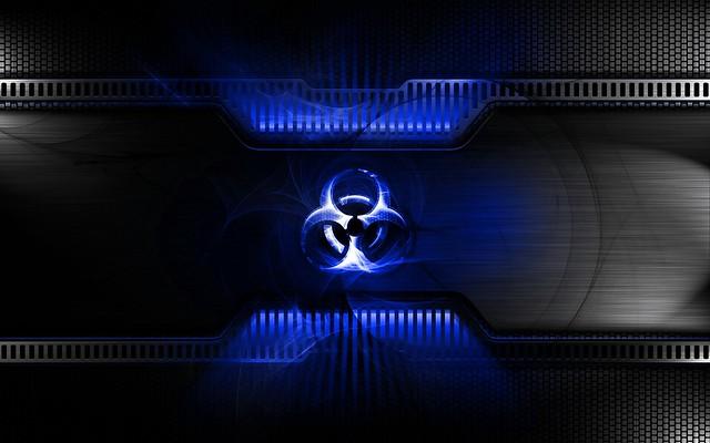 Обои радиация, свет, знак, символ, металл картинки на рабочий стол, фото скачать бесплатно