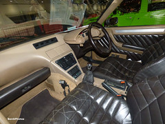 Citroen CX (BenGPhotos) Tags: 2019 london classic car show citroen 100th anniversary citroencx cx25 gti turbo2 estate interior detail d937roh
