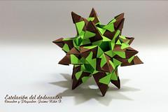 Estelación del dodecaedro (Jaime Niño Bernal) Tags: estelacióndodecaedro origami dodecaedro origamimodular modularorigami