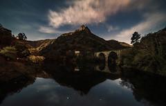 "I am the mountain (""meltedcheese"") Tags: night nightscape lake reflection landscape mountain nature galicia spain paisaje lago reflejo españa noche nocturna agua montaña"