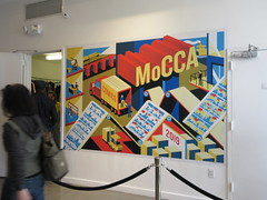 MoCCA Fest NYC 2019 Cartoon Convention 5519 (Brechtbug) Tags: mocca fest 2019 nyc convention museum comics cartoon art metropolitan west exhibition space 46th street between 11th 12th aves avenues new york city exposition exterior facade building entrance front floor panorama shot con conventions society illustrators 04072019 newspaper funnies saturday sunday comix illustration comic book artists comicbook sol event april wall poster