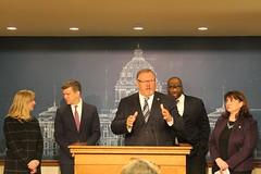 DFL Legislative Leadership Press Conference