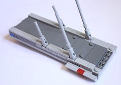 Boarding Ramp 2 (KirtonBricks) Tags: technic brick lego millennium falcon 75192 mod moc kirton star wars han solo