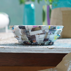 Cardboard Papermache Bowl