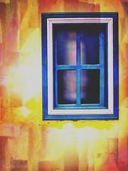 Minimalist - window - yellow, blue, white - 1 (Enio Godoy - www.picturecumlux.com.br) Tags: hipstamatic mobile window minimalist yellow blue white mobilephotography mobiography