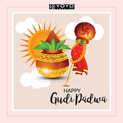 May the auspicious occasion of Gudi Padwa brings you millions of joys and good health. (yoyo_fashion) Tags: ugadi2019 gudipadwa yoyofashion happygudipadwa newyear