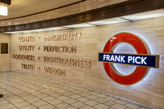 Frank Pick (Daniele Nicolucci photography) Tags: 2019 adventure beauty brexit england frankpick goodness holiday immortality london march2019 perfection piccadillycircus righteousness solo tfl trip truth tube uk underground unitedkingdom utility wisdom gb