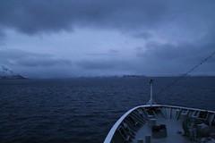 Vesterålen islands (plutogno) Tags: norway arctic circle day light sea hurtigruten kong harald ship ferry post