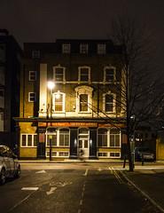 The Queens Arms, Bermondsey Spa (London Less Travelled) Tags: uk unitedkingdom britain england london city urban street suburban suburb suburbia southlondon southwark bermondsey night dark pub spa light