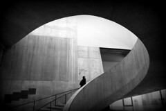 Ascent? (joephoto uk) Tags: switch house tate modern london stairs staircase spiral concrete
