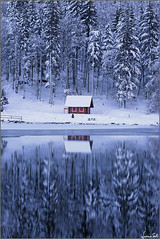 giochi di specchi (Luciano Silei - sky7) Tags: fusine tarvisiano winter inverno frozen frozenlake snow mirror water lake alps alpigiulie alpi lucianosilei canon6d canon1740mm landscape panorama paesaggi