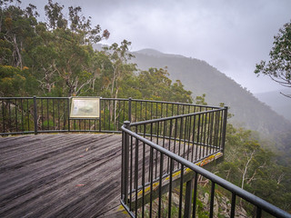 End of the Myanba Gorge walking track
