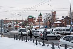 Красноармейская (Jess Aerons) Tags: траффик автомобиль движение зима