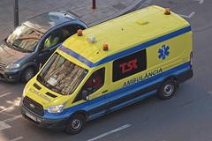 Ambulàncies TSC (bleulights) Tags: transport sanitari de catalunya 1197 ambulàncies ford transit ambulància ambulancia ambulanza ambulance ambulanz rettungswagen emergències mèdiques medical emergencies emergencias médicas urgences médicales catsalut col·lectiu adaptat adapted transporte colectivo adaptado