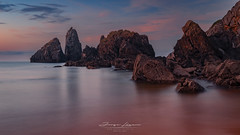 Playa de Laga (www.jorgelazaro.es) Tags: vizcaya costa mar cielo landscape cantábrico rocas paisaje sunset laga naturaleza olas paísvasco atardecer bizkaia playa