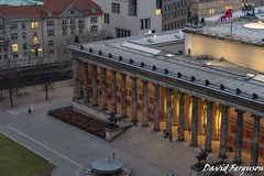 Altes Museum, Berlin (Daveoffshore) Tags: berlin germany altes museum architecture collonade evening dusk column