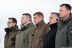 Obchody rocznicowe z okazji akcesji państw Grupy Wyszehradzkiej do NATO (Kancelaria Premiera) Tags: premier mateuszmorawiecki nato obchody 20lat grupawyszehradzka czechy słowacja węgry sojusz północnoatlantycki