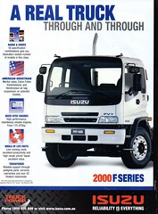 2000 Isuzu 2000 F Series Aussie Original Magazine Advertisement (Darren Marlow) Tags: 2 20 00 2000 i isuzu f s series t trucks c cool collectible collectors classic a automobile v vehicle j jap japan japanese asian asia 00s