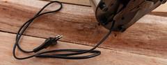 Bottom of kitchen appliance (annick vanderschelden) Tags: kitchen appliance citruspress powercords plug black suction suctioncups food