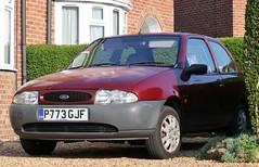 P773 GJF (Nivek.Old.Gold) Tags: 1997 ford fiesta encore 3door 1299cc sandicliffe