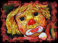 The Little Clown (SØS: Thank you for all faves + visits) Tags: clown collage color colorful digitalart digitalartwork art kunstnerisk manipulation solveigøsterøschrøder artistic mosaic photomanipulation shockofthenew 100views