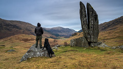 This is what makes me happy! (MilesGrayPhotography (AnimalsBeforeHumans)) Tags: glenlyon scotland prayinghands scottishlandscapephotography landscape photography mountains rocks zeiss sony sonya7rii a7rii 2470 sonyilce7rm2 ilce7rm2 sonyfe2470f4zaoss selfie dog