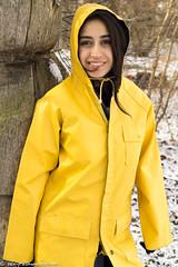 Rubber in winter (35 pics) (sexyrainwear_dot_online) Tags: raincoat rainjacket rainwear raingear regenmantel regenjacke friesennerz ostfriesennerz pvc