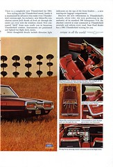 1964 Ford Thuderbird Hardtop & Convertible Page 2 USA Original Magazine Advertisement (Darren Marlow) Tags: 1 4 6 9 19 64 1964 f ford t thunderbird tbird c convertible h hardtop car cool collectible collectors classic a automobile v vehicle u s us usa united states american america 60s