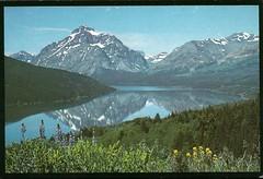 Lower Two Medicine Lake (tico_manudo) Tags: lowertwomedicinelake parquenacionalglacier reservaindiablackfeet montana usavintagepostcard risingwolfmountain