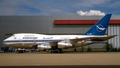 YK-AHB 747SP SyrianAir (RedRipper24) Tags: 747sp boeing747 boeing747sp boeingairliners 747specialperformance commercialaviation commercialaircraft airplanes