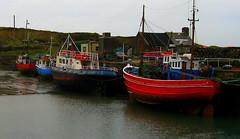 Fishing Boats (Patrick Dockens) Tags: ireland honeymoon capeclear capeclearisland island countycork cork boat fishing fishingboat wharf quay lowtide
