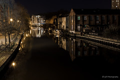 riverside night (G.R Photography) Tags: norfolk norwich night nightphotography nighttime england eastanglia grphotography architecture water landscape landscapephotography lanscape light river reflections