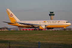 V8-MHB // Royal Brunei // 767-200 // Stansted (SimonNicholls27) Tags: egss stansted stn v8mhb royal brunei 767 767200 vip