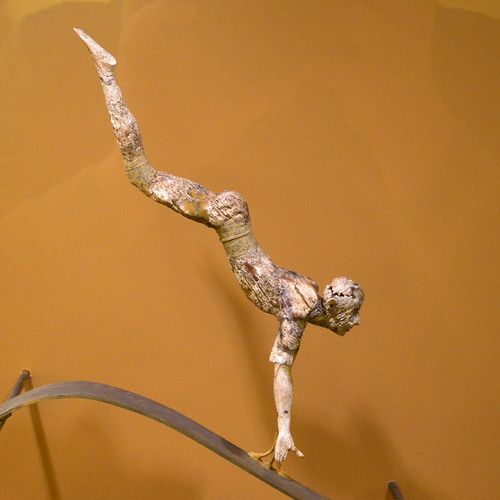 Minoan ivory figurine of a bull-leaper, from Knossos