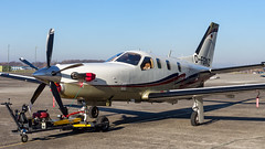 Socata TBM-850 D-FGWZ Private (William Musculus) Tags: plane spotting aviation airplane airport socata tbm700 tbm850 dfgwz private edtl lha lahr william musculus