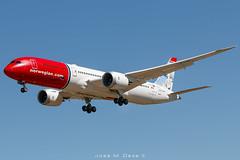 Norwegian B787-9 LN-LNX (José M. Deza) Tags: 20190404 b7879 bcn boeing dreamliner elprat lebl lnlnx norwegain planespotting spotter aircraft