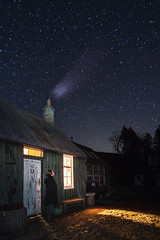 Star Gazer (Chris B70D) Tags: scotland travel go outdoors north east coast scenery uk highlands cairngorms long weekend away roadtrip explore star night evening sky dark black stars astro astronomy look up starry bright clear trail stacked composite lighting exposure time movement galaxy tripod remote shutter landscape photography scene composition canon 70d 18135 tokina 1116 light shadow fresh air daytime sunset cold spring season
