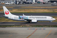 japan Transocean Air Boeing 737 - 8Q3 JA09RK (Mark Harris photography) Tags: spotting boeing 737 jta hnd japan