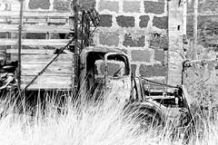 Dennis (Konakilo) Tags: dennis abandoned pentaxp3 pentax50mm rural decay abandono fomapan