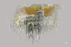 0781_  Inspiration from The Botanical Garden in Copenhagen (SØS: Thank you for all faves + visits) Tags: art artistisk kunstnerisk manipulation kunst solveigøsterøschrøder fractals farver colors form botaniskhave buildings bygninger danmark københavn