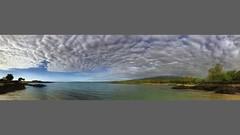 Hualalai Volcano Beneath Mottled Clouds! (ShutterOak) Tags: hawaii kona bigisland clouds topical panorama iphone