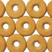 Round crisp Cookies background